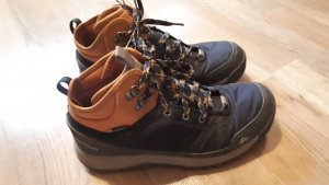 Decathlon Lace-up Boots brown-dark blue