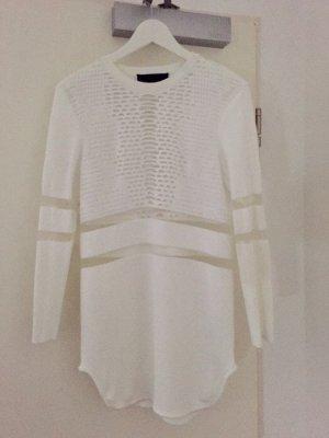 Wang Pullover Gr. S Alexander Wang für H&M Mesh Transparent Shirt Dress Longtop