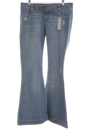 Ware Denim. Jeansschlaghose hellblau Casual-Look