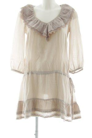 Warehouse Blusenkleid wollweiß Elegant