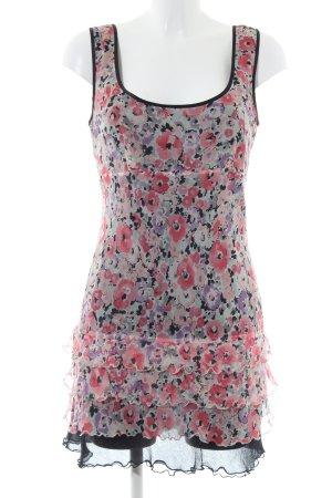 Warehouse Chiffon jurk volledige print casual uitstraling