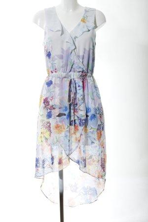 Warehouse Chiffon jurk bloemenprint elegant