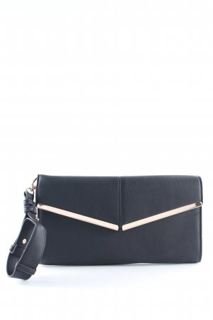 Warehouse Clutch schwarz Elegant