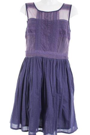 Warehouse Etuikleid dunkelblau-grauviolett Casual-Look