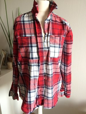 Warehouse Hemd 38 M neu Flanel Bluse Shirt Herbst Winter