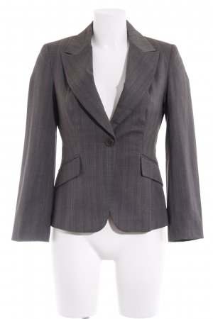 Warehouse Jerseyblazer grau-dunkelgrau Fischgrätmuster Business-Look