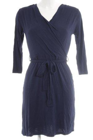 Warehouse Jerseykleid dunkelblau Business-Look