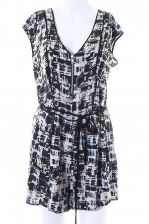 Warehouse Jumpsuit abstraktes Muster Casual-Look