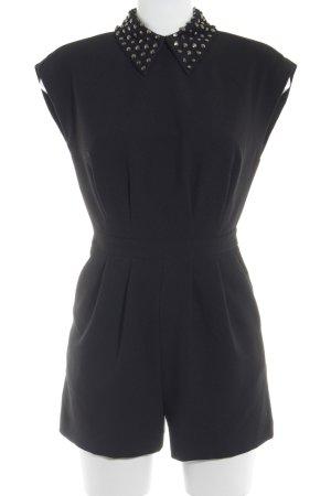 Warehouse Jumpsuit schwarz Elegant