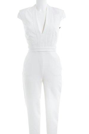 Warehouse Jumpsuit wollweiß schlichter Stil