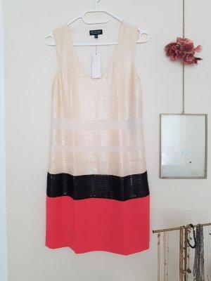 Warehouse Kleid colour blocking Pailetten