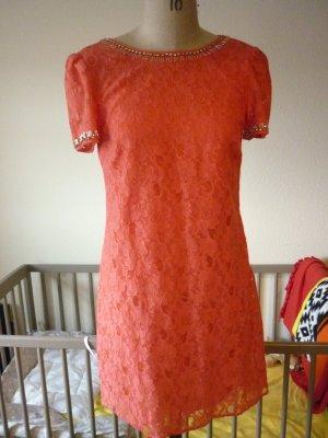 Warehouse Kleid coralfabrig