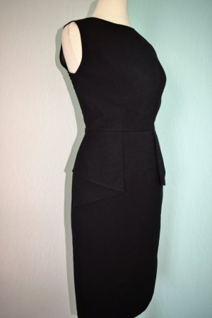 Warehouse Kleid Etuikleid Gr. 34 XS schwarz Schößchen