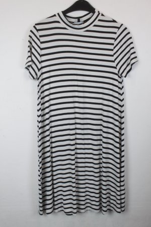 Warehouse Shirt Dress white-black polyester