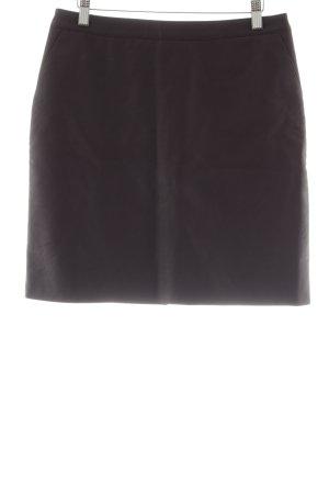 Warehouse Falda de cuero de imitación violeta amarronado look casual