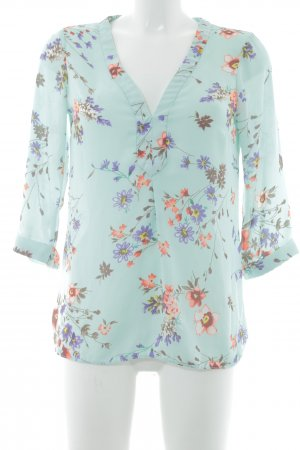 Warehouse Langarm-Bluse Blumenmuster Brit-Look