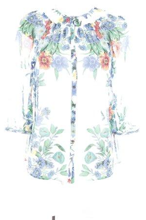 Warehouse Langarm-Bluse Blumenmuster Elegant
