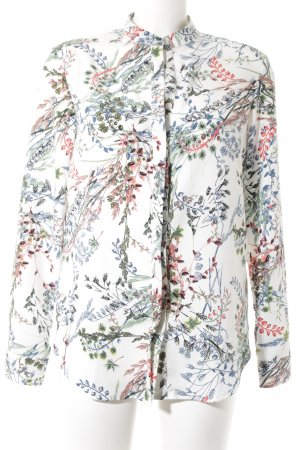 Warehouse Langarm-Bluse florales Muster Casual-Look