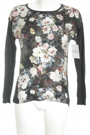 Warehouse Camisa larga estampado floral look casual
