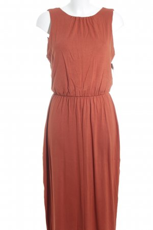 Warehouse Maxikleid dunkelorange Casual-Look