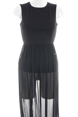 Warehouse Maxikleid schwarz Street-Fashion-Look