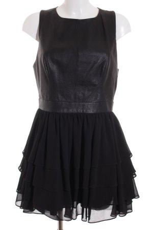 Warehouse Minikleid schwarz Elegant