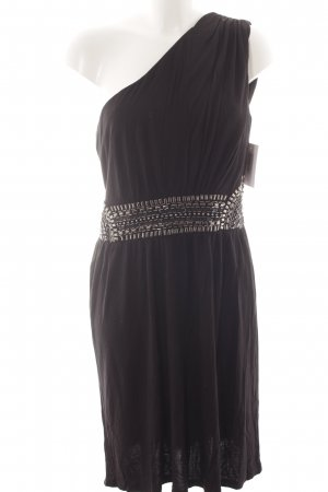 Warehouse One-Shoulder-Kleid schwarz Party-Look