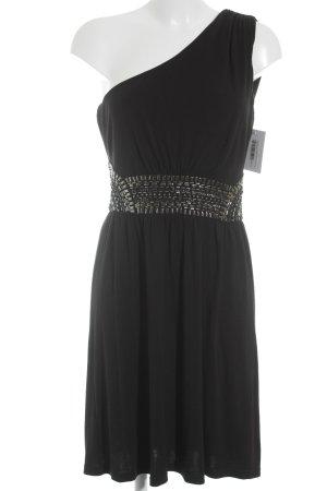 Warehouse One-Shoulder-Kleid schwarz Party-Look
