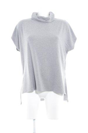 Warehouse Camisa de cuello de tortuga gris claro look casual