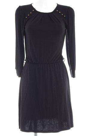 Warehouse Stretchkleid schwarz schlichter Stil