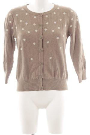 Warehouse Cardigan tricotés crème-beige motif de tache