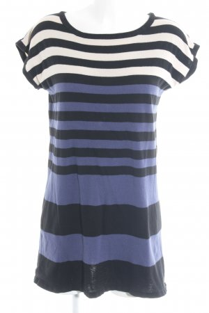 Warehouse Robe en maille tricotées motif rayé style décontracté