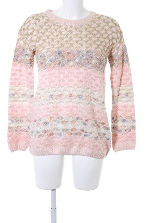 Warehouse Maglione lavorato a maglia motivo a righe stile casual