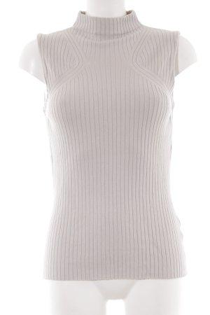 Warehouse Haut tricotés gris clair style décontracté