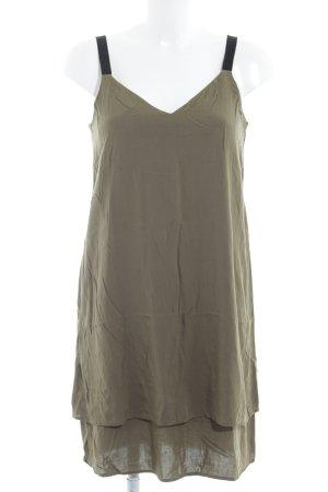 Warehouse Trägerkleid khaki Casual-Look
