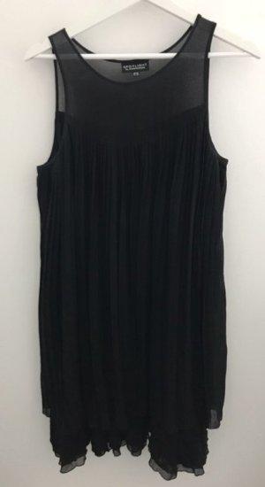 Warehouse volantkleid in schwarz