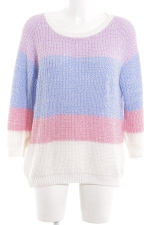 Warehouse Jersey de lana estampado a rayas look casual
