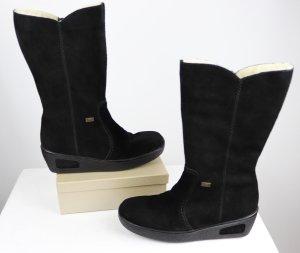 timeless design 34005 f22e4 Rieker Winter Boots black leather
