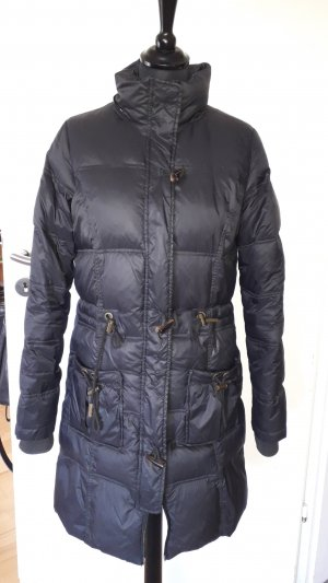 Blend Down Coat black mixture fibre