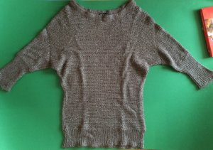 Warm Knitted Bronze Color Sweater