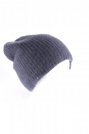 Warm-Me Knitted Hat dark grey classic style