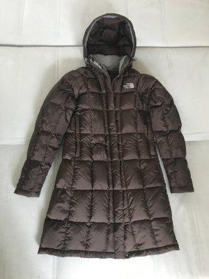 The North Face Manteau en duvet brun-gris clair nylon