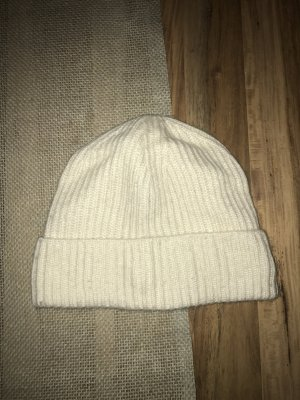 Beanie natural white