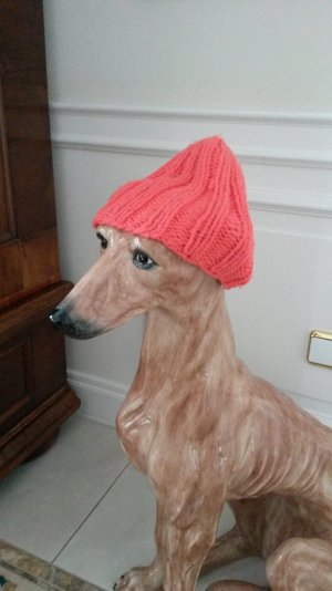 warme auffällige strick mütze !