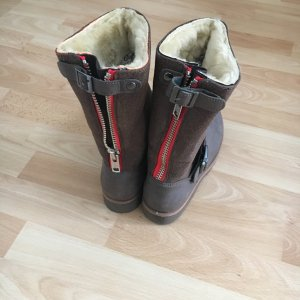 Warme Buffalo Winterstiefel, 37, braun