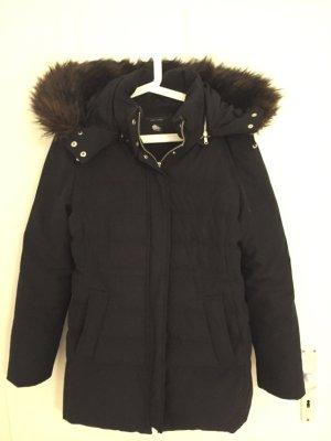 Zara Manteau en duvet noir