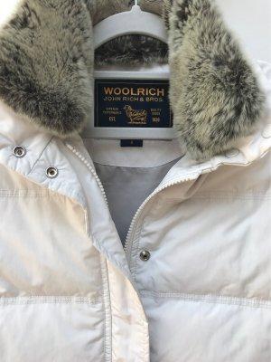 Woolrich Piumino smanicato bianco