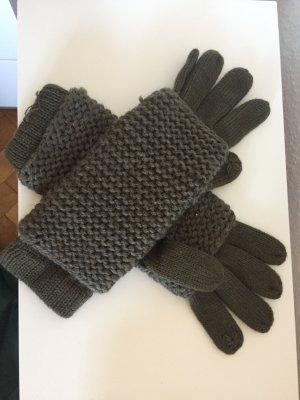Esprit Gloves khaki