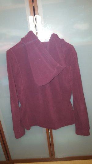 Warme flauschige Jacke