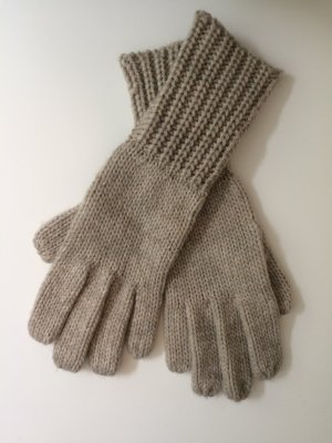 Blue Motion Knitted Gloves cream-oatmeal polyester